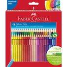 Pastelky Faber-Castell Akvarelové, Colour Grip, 48 ks
