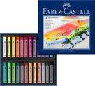 Měkké pastelové křídy Faber-Castell, 12 ks
