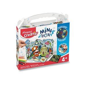 Minibox MAPED Creativ - AKVÁRIUM SE SVÍTÍCÍMI SAMOLEPKAMI