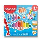 Dětské fixy MAPED Colour´Peps JUMBO - 12 barev
