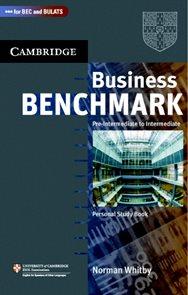 Business Benchmark 2nd edition Pre-Intermediate to Intermediate Personal Study Book