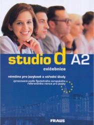 Studio d A2 němčina pro JŠ a SŠ - cvičebnice - A4, brožovaná