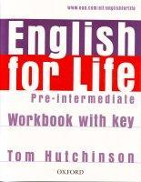 English for Life Pre-intermediate Workbook + key