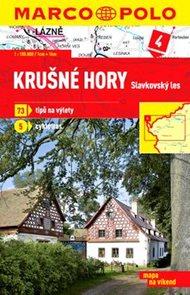 Krušné hory-Slavkovský les - mapa 1:100 000 + průvodce na víkend