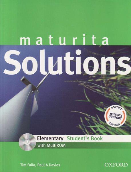 Maturita Solutions Elementary Students Book + MultiROM - Falla T.,Davies P.a. - A4, brožovaná