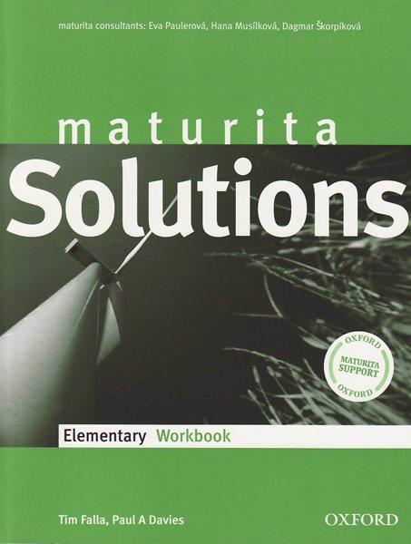 Maturita Solutions Elementary Workbook cz - Falla Tim,Davies A Paul - A4, brožovaná
