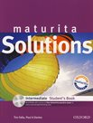 Maturita Solutions Intermediate Students Book with multiROM
