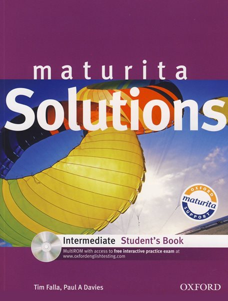 Maturita Solutions Intermediate Students Book with multiROM - Falla T., Davies A. P. - A4, brožovaná