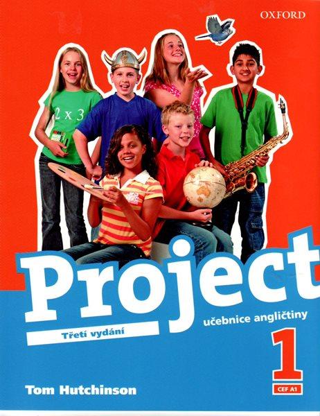 Project 1 - učebnice angličtiny /Třetí vydání/ - CEF A1 - Hutchinson Tom - A4, brožovaná