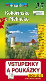 Kokořínsko a Mělnicko - průvodce Soukup-David č.37 /+volné vstupenky/