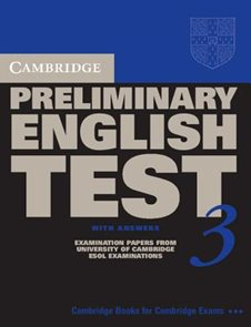 Preliminary English test 3-SB with answers