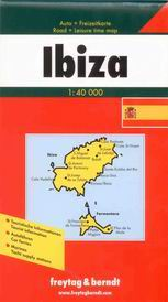 Ibiza, Formentera - mapa Freytag - 1:40 000