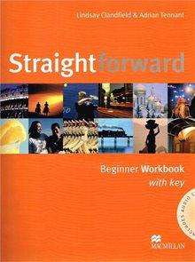 Straightforward beginner Workbook with key + audio CD