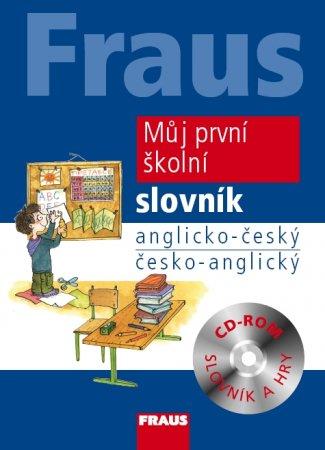 Můj první školní slovník anglicko-český a česko-anglický + CD-ROM - Vintrová,Hovorková,Parobková - A4, vázaná