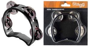 Mini tamburína - černá