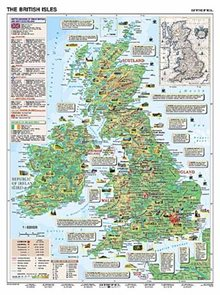 Basic Facts about Great Britain /British Isles - tabulka A3