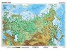 Severní Asie geografická/  politická - mapa A3