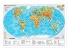 Svět obecně geografický + Svět politický - mapa A3