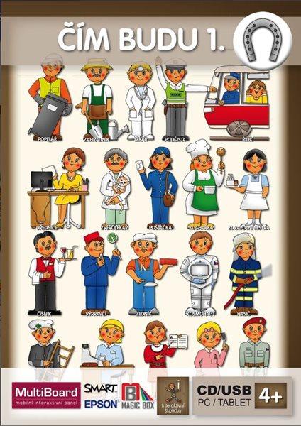 Hrajeme si a učíme se - ČÍM BUDU 1. - interaktivní Software pro předškolní děti, Doprava zdarma