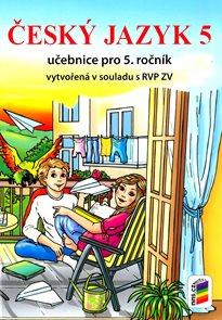 Český jazyk 5 - učebnice /NOVÁ ŘADA/