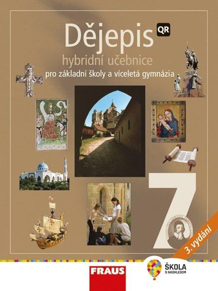 Dějepis 7.r. ZŠ a víceletá gymnázia - učebnice /nové vydání/ - kolektiv autorů - 210×280 mm