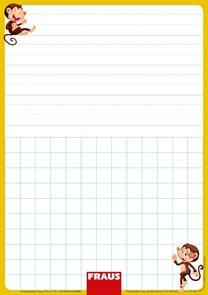 Stíratelná tabulka pro 1. ročník ZŠ - vázané písmo
