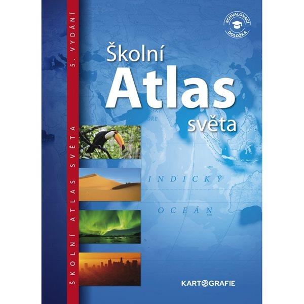 Školní atlas světa - 23x32 cm