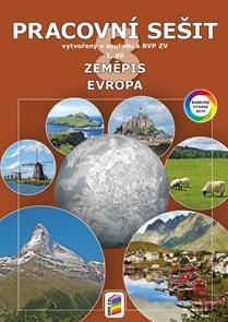 Zeměpis 8.r. ZŠ 1. díl - Pracovní sešit - Evropa v souladu s RVP ZV (barevný)