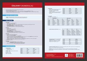 Přehledová tabulka učiva - Číslovky