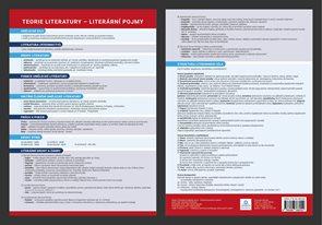 Přehledová tabulka učiva - Přehled literárních pojmů