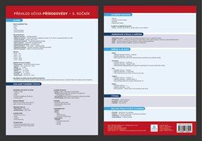 Přehledová tabulka učiva - Přírodověda II., Ročník 5.