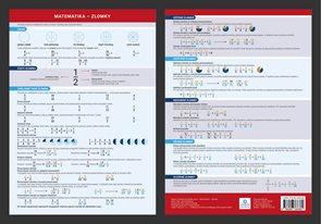 Přehledová tabulka učiva - Matematika - zlomky