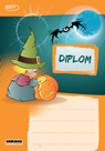 Diplom A5 Podzim Halloween pro menší děti
