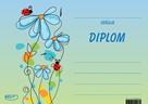 Diplom A5 Květiny s beruškami
