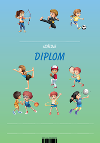 Diplom A5 Sport a aktivity