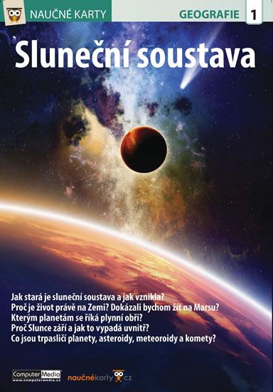 Naučné karty Sluneční soustava - neuveden - 15x21 cm