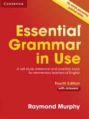 Essential Grammar in Use 4th Edition Edition with answers - Raymond Murphy - 26x19,5