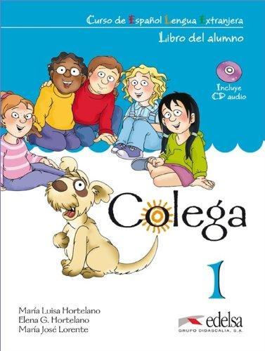 Colega 1 - učebnice + pracovní sešit + CD - González Hortelano Elena - 210×280 mm