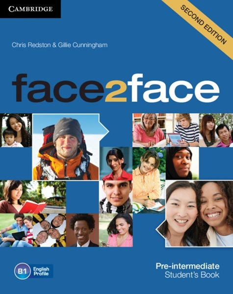 Face2face Pre-intermediate 2.edice Students Book + DVD - Redston, Chris & Cunningham, Gillie