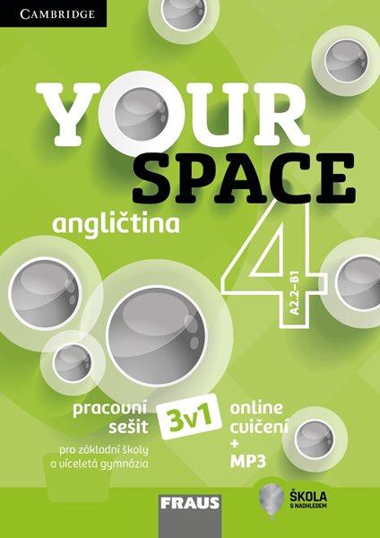 Your Space 4 - pracovní sešit - Keddle Julia Starr, Hobbs Martyn, Wdowyczynová Helena, Betáková Lucie - 210×297 mm
