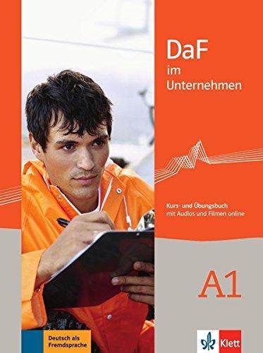 DaF im Unternehmen A1 - učebnice němčiny a pracovní sešit - I. Sander - A. Farmache - R. Grosser - C. Hanke - V. Ilse - K.F. Matusch - D. Schmeisser - U. Tellmann - 210×280 mm
