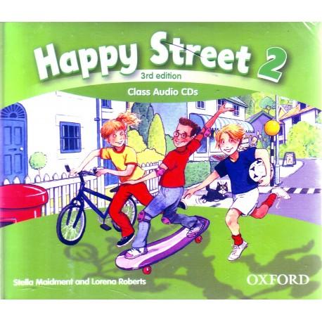 Happy Street 2 - třetí vydání - Class Audio CDs - Maidment, S. - Roberts, L.