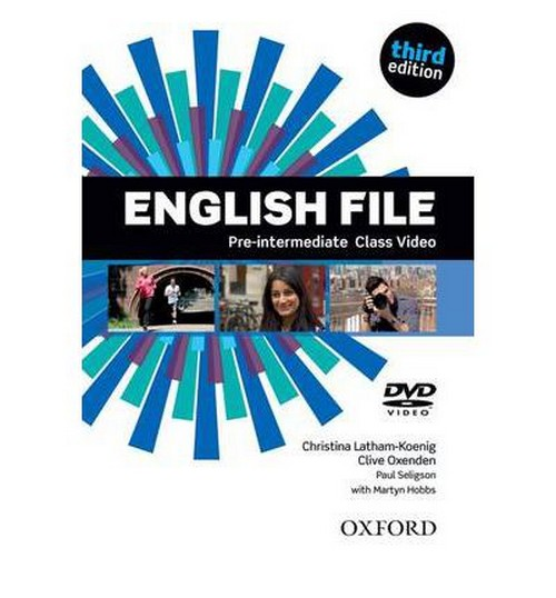 English File Pre-intermediate third edition Class DVD - Latham-koenig, Ch. - Oxenden, C. - Selingson, P.