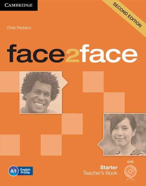 Face2face Starter 2. edice Teacher's Book with DVD - Chris Redston
