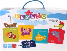Pexeso s angličtinou - Mořský svět