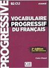 Vocabulaire progressif du francais 2. édition Avancé Livre + CD audio