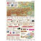 Österreich im Überblick - mapa A3