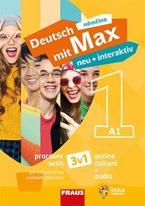 Deutsch mit Max neu + interaktiv 1 - pracovní sešit (3v1)