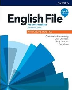 English File 4th Edition Pre-Intermediate Student's Book with Student Resource Centre Pack (Czech)