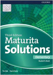 Maturita Solutions 3rd Edition Elementary Student's Book (Czech Edition)